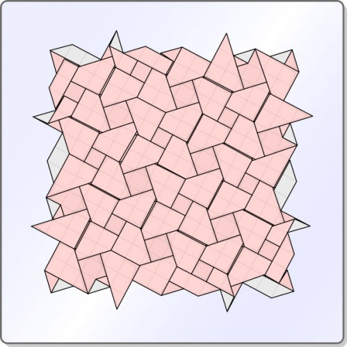 Iso Area Square Pattern 12